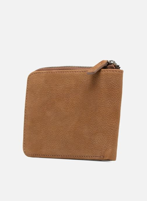 Wallets & cases Antonyme by Nat & Nin Porte-monnaie Lenny Cuir Brown view from the right