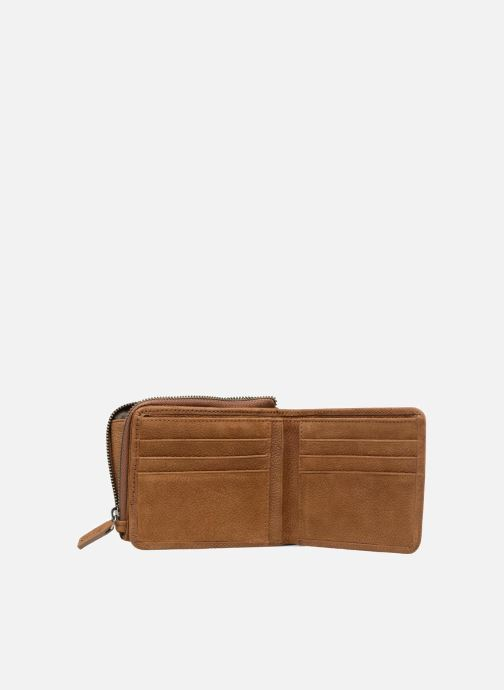 Wallets & cases Antonyme by Nat & Nin Porte-monnaie Lenny Cuir Brown view from the left