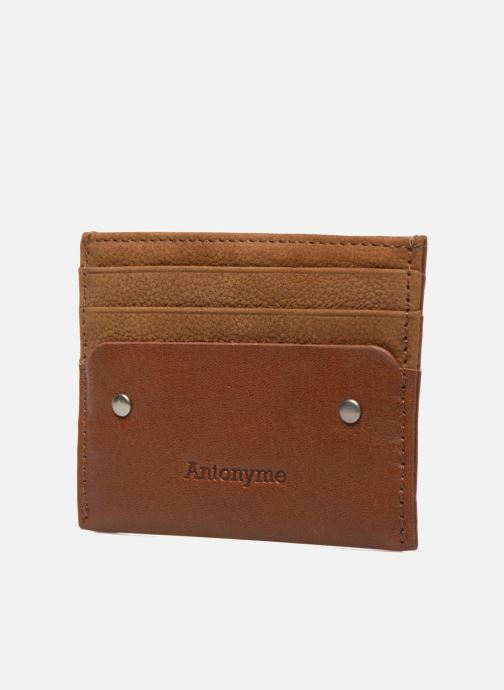 Wallets & cases Antonyme by Nat & Nin Rob Chaudron Brown model view