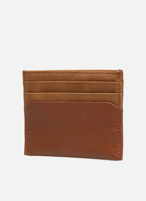 Wallets & cases Antonyme by Nat & Nin Rob Chaudron Brown view from the right