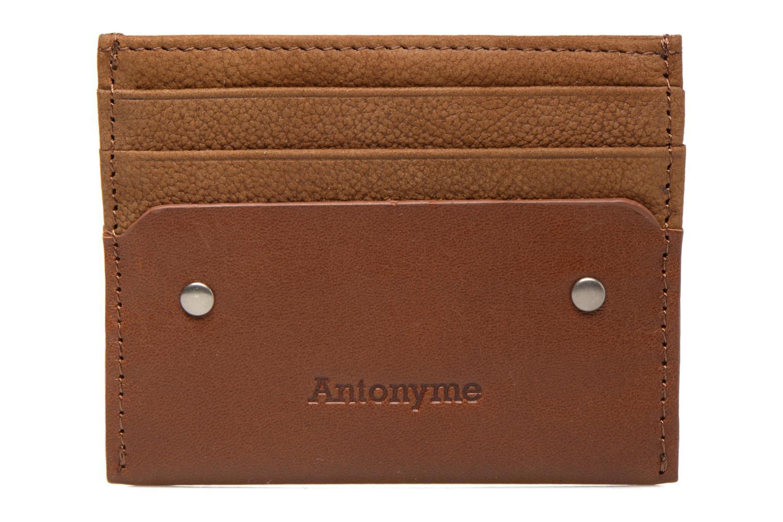 Kleine lederwaren Antonyme by Nat & Nin Porte-cartes Rob Bruin detail