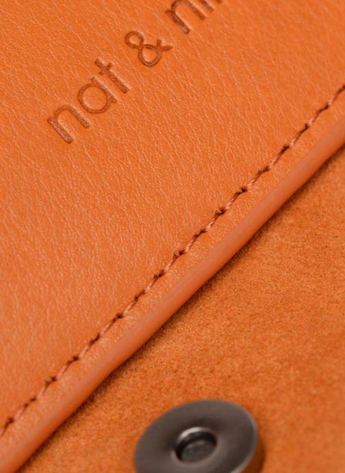 Sacs à main Nat & Nin Victoire Orange vue gauche