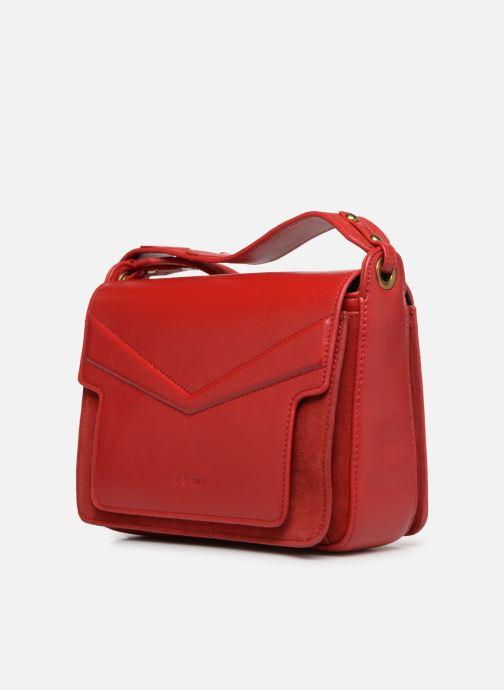 Handtaschen Nat & Nin Victoire rot schuhe getragen