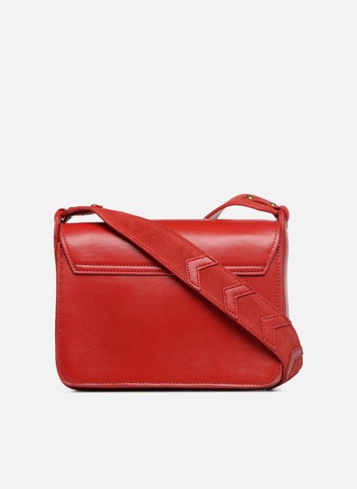 Handtaschen Nat & Nin Victoire rot ansicht von vorne
