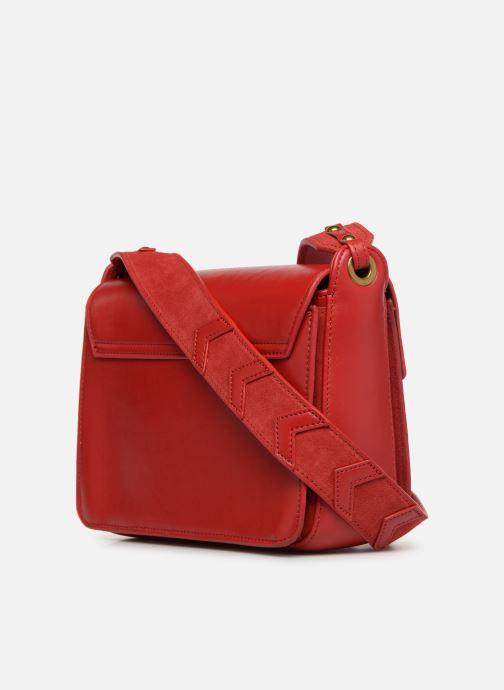 Handtaschen Nat & Nin Victoire rot ansicht von rechts