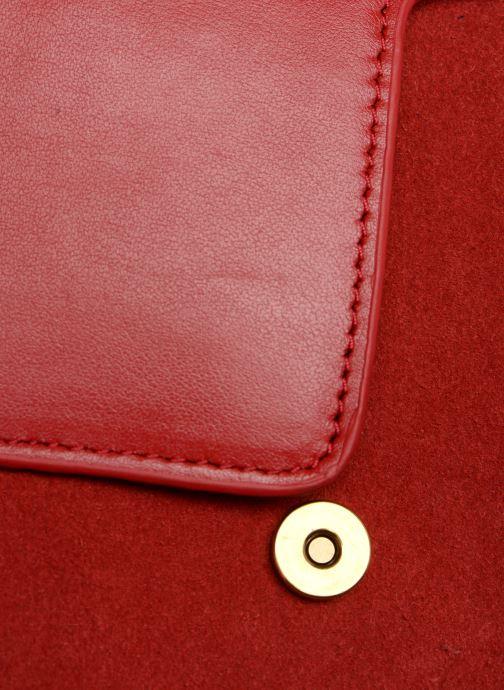 Handtaschen Nat & Nin Victoire rot ansicht von links