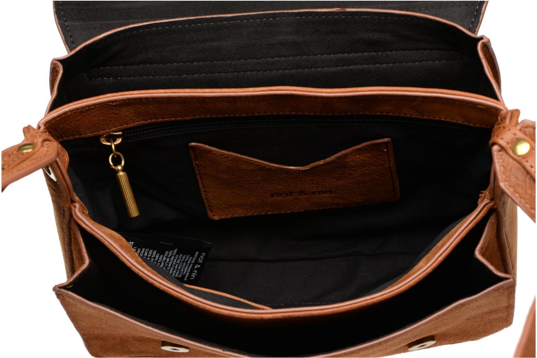 Handtaschen Nat & Nin Victoire braun ansicht von hinten