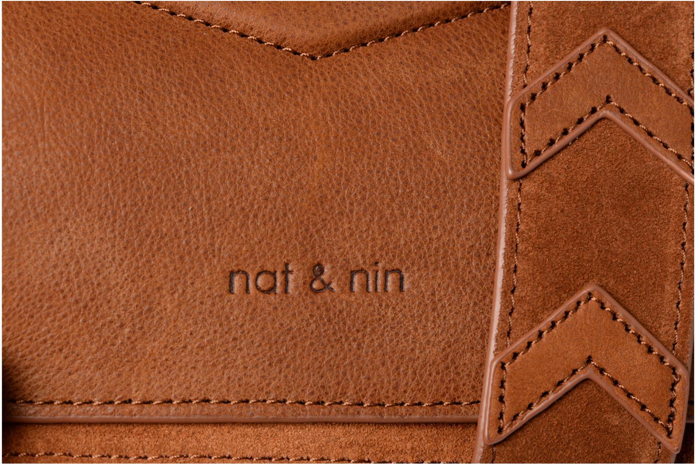 Handtaschen Nat & Nin Victoire braun ansicht von links