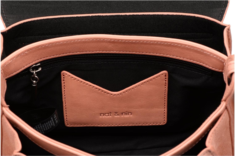 Handtaschen Nat & Nin Victoire rosa ansicht von hinten
