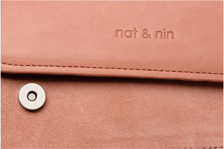 Handtaschen Nat & Nin Victoire rosa ansicht von links