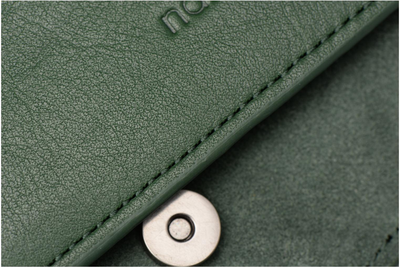 Handtaschen Nat & Nin Victoire grün ansicht von links