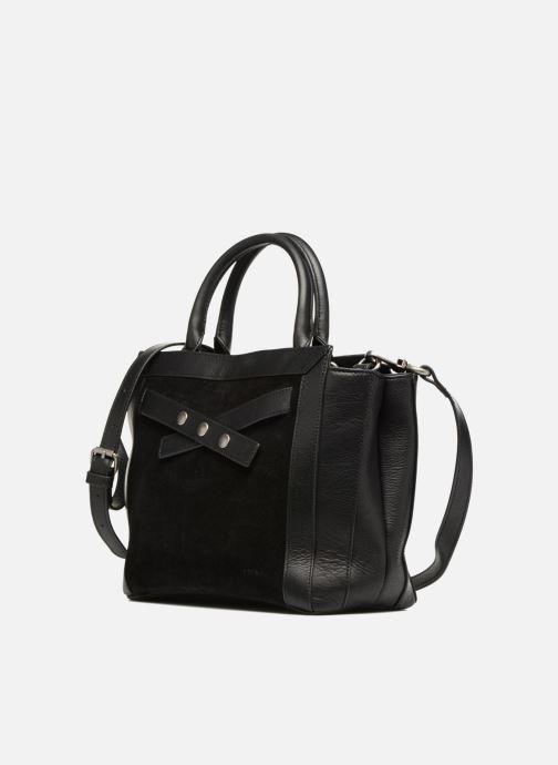Handtaschen Nat & Nin Solene schwarz schuhe getragen