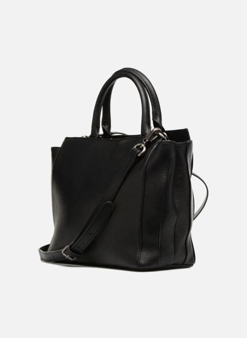 Handtaschen Nat & Nin Solene schwarz ansicht von rechts