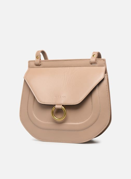 Handbags Nat & Nin Anja Beige model view