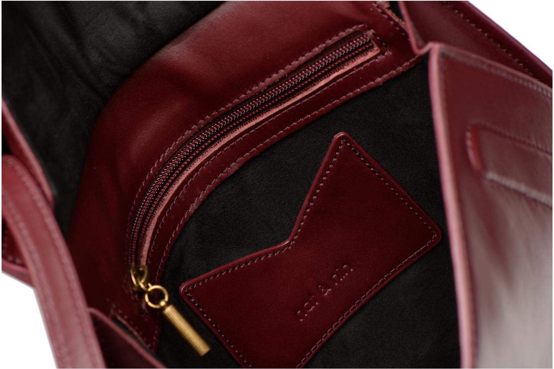 Handtaschen Nat & Nin Anja weinrot ansicht von hinten