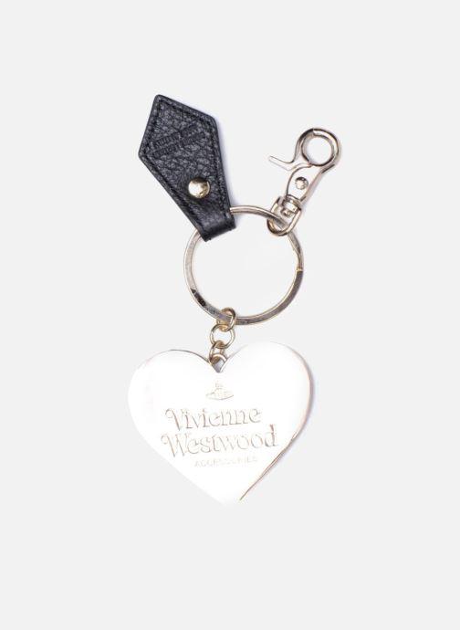Petite Maroquinerie Vivienne Westwood Porte-clés Miroir Cœur Noir vue portées chaussures