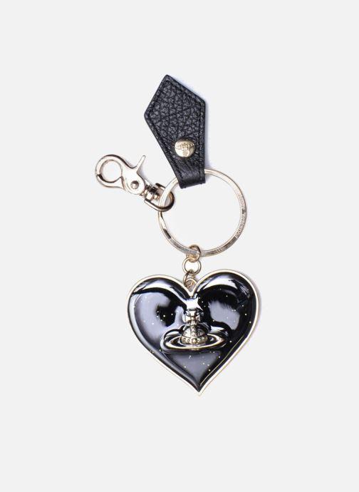 Kleine lederwaren Vivienne Westwood Porte-clés Miroir Cœur Zwart detail
