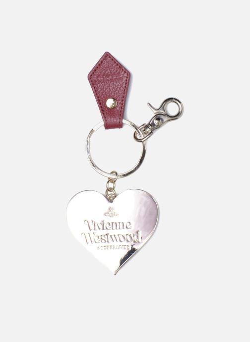 Petite Maroquinerie Vivienne Westwood Porte-clés Miroir Cœur Rouge vue portées chaussures