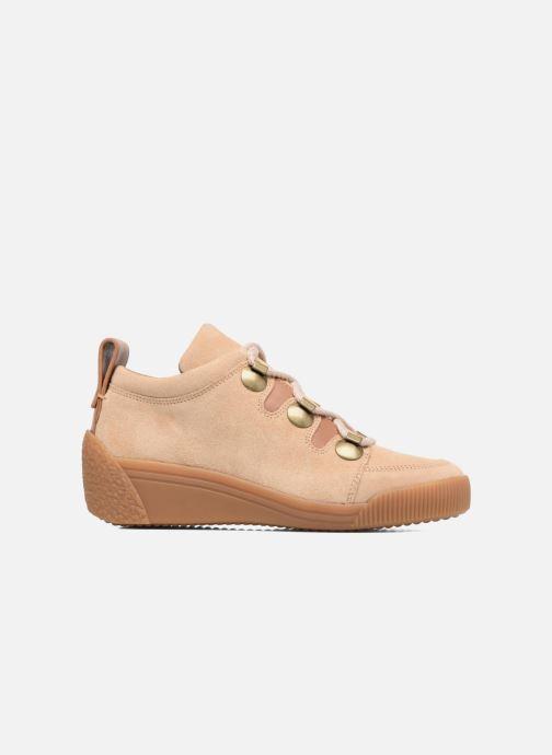 Zapatos con cordones See by Chloé Inna Beige vistra trasera