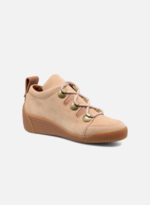 Zapatos con cordones See by Chloé Inna Beige vista de detalle / par