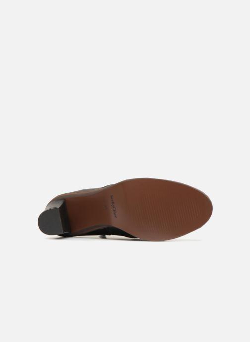 Boots en enkellaarsjes See by Chloé Stasya Bootie Zwart boven
