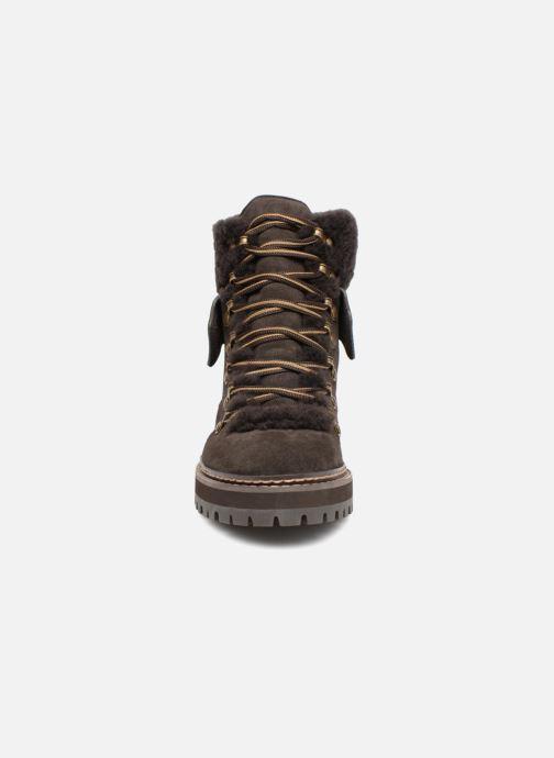Bottines et boots See by Chloé Eileen Gris vue portées chaussures