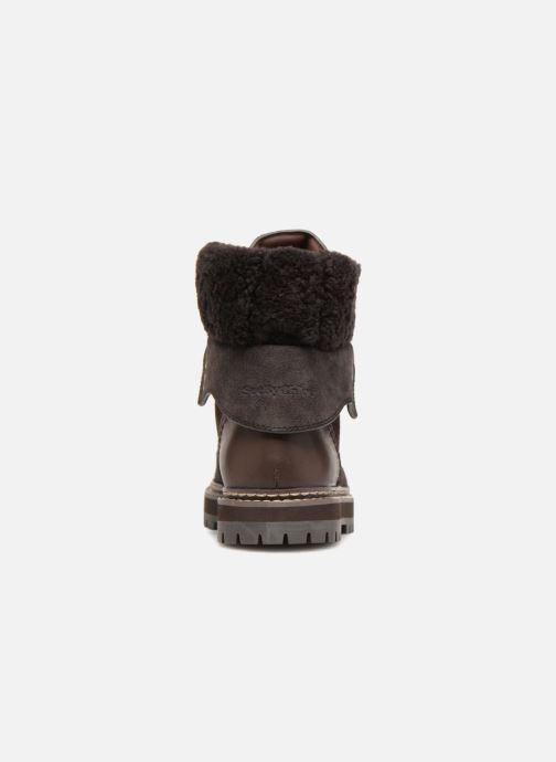 Bottines et boots See by Chloé Eileen Gris vue droite