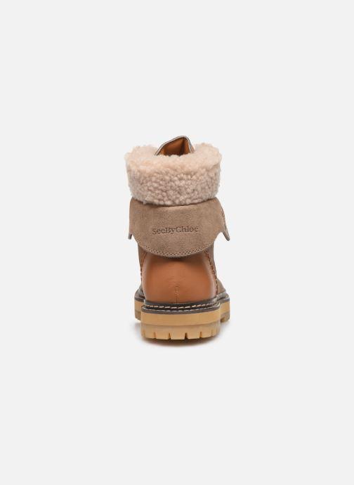 Bottines et boots See by Chloé Eileen Beige vue droite