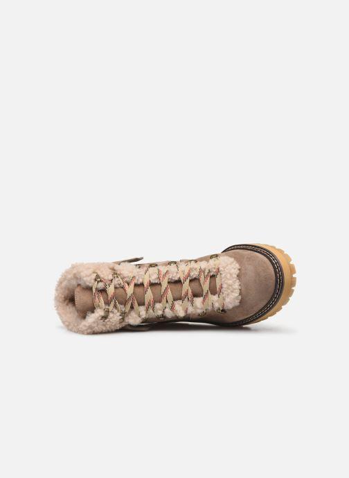 Bottines et boots See by Chloé Eileen Beige vue gauche