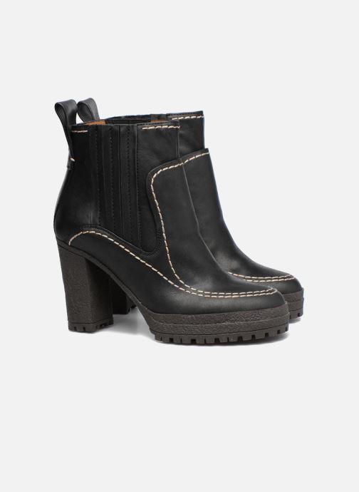 Boots en enkellaarsjes See by Chloé Tanya Zwart 3/4'