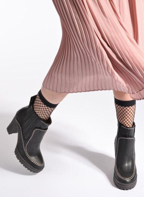 Boots en enkellaarsjes See by Chloé Tanya Zwart onder