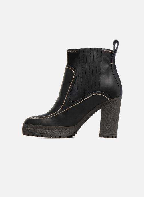 Boots en enkellaarsjes See by Chloé Tanya Zwart voorkant
