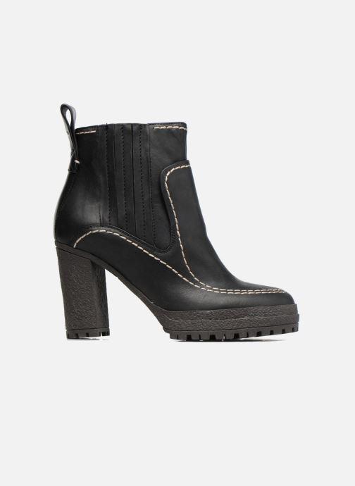 Boots en enkellaarsjes See by Chloé Tanya Zwart achterkant
