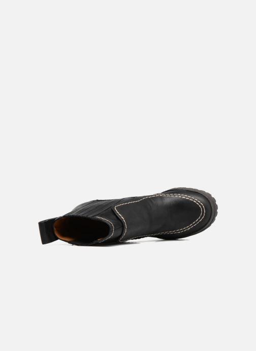 Boots en enkellaarsjes See by Chloé Tanya Zwart links