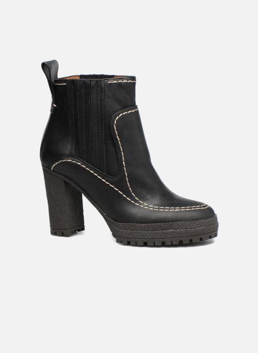 Boots en enkellaarsjes See by Chloé Tanya Zwart detail