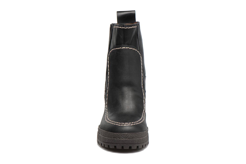 Bottines et boots See by Chloé Tanya Noir vue portées chaussures