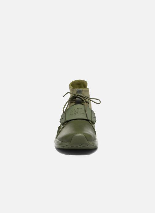 Baskets Puma FENTY TRAINER WN Vert vue portées chaussures