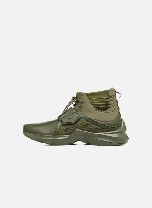 Sneaker Puma FENTY TRAINER WN grün ansicht von vorne