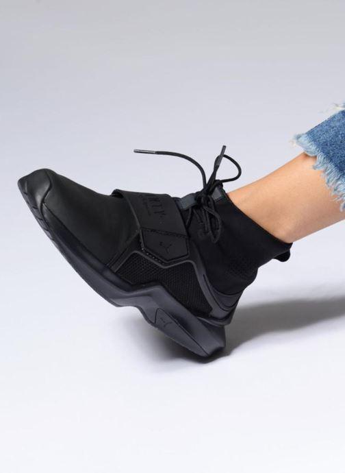 Sneaker Puma FENTY TRAINER WN weiß ansicht von unten / tasche getragen