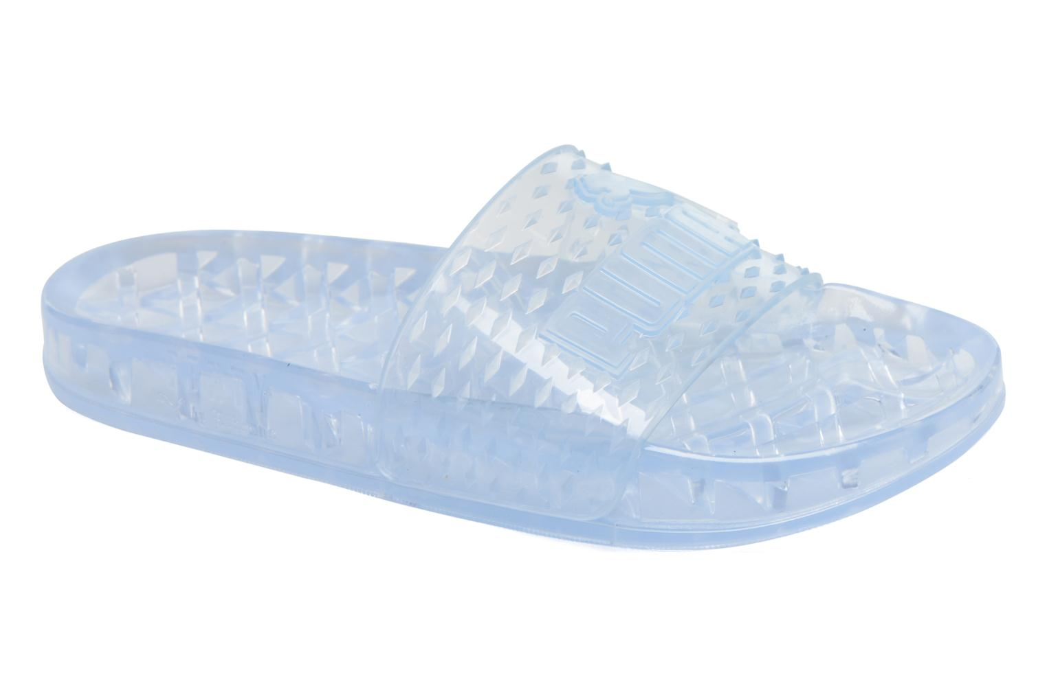 Mules & clogs Puma FENTY JELLY SLIDE Blue detailed view/ Pair view