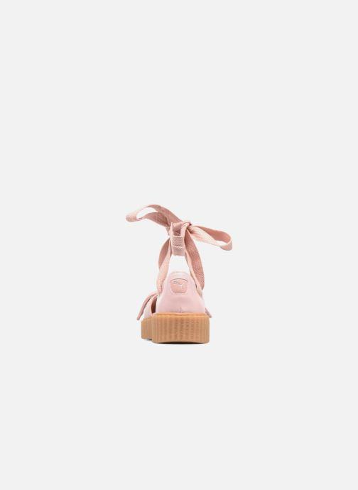 Sandalen Puma FTY BOW CREEPER SAND Roze rechts