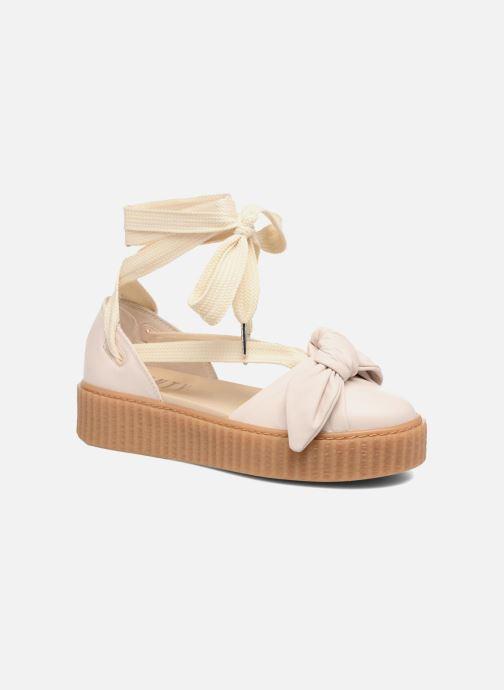 Sandales et nu-pieds Puma FTY BOW CREEPER SAND Beige vue détail/paire