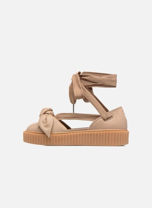 Sandalen Puma FTY BOW CREEPER SAND Bruin voorkant