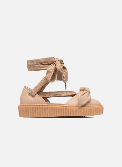 Sandales et nu-pieds Puma FTY BOW CREEPER SAND Marron vue derrière
