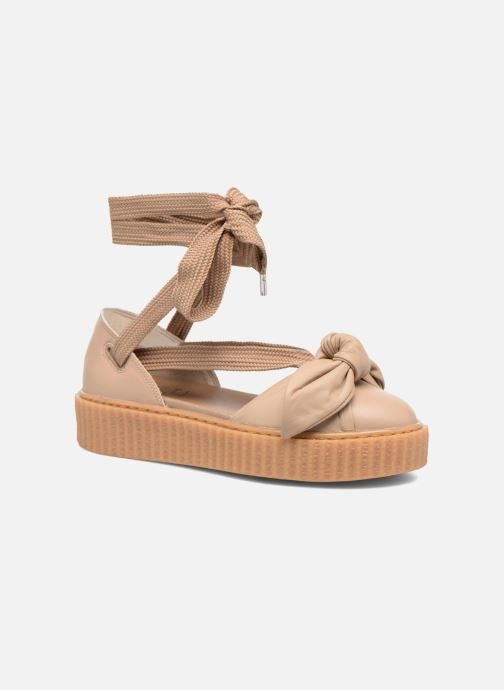 Sandalen Damen FTY BOW CREEPER SAND