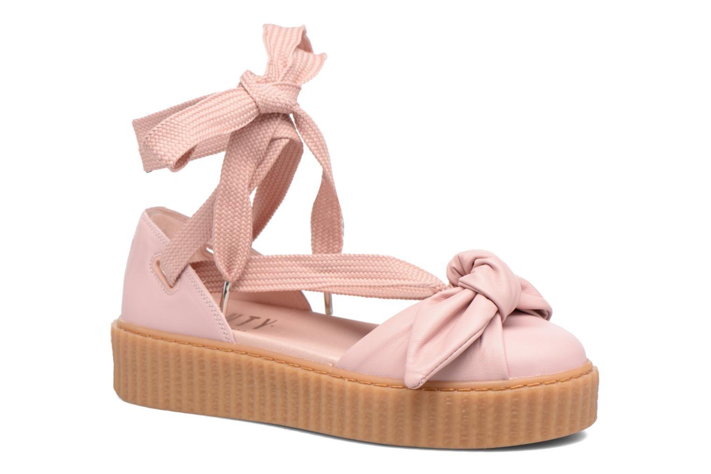 Sandales et nu-pieds Puma FTY BOW CREEPER SAND Rose vue détail/paire