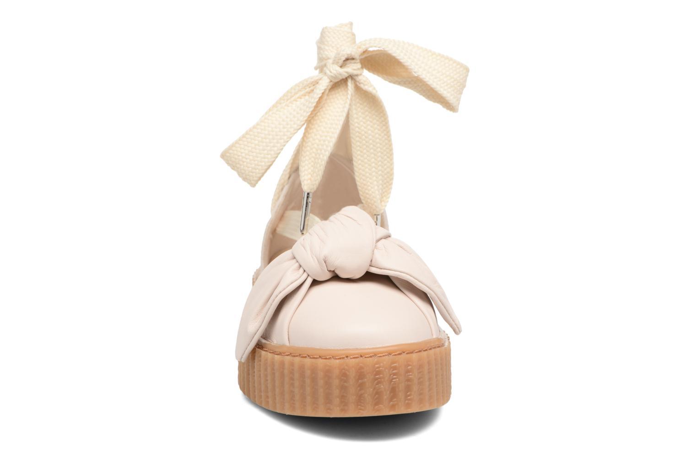 Sandales et nu-pieds Puma FTY BOW CREEPER SAND Beige vue portées chaussures