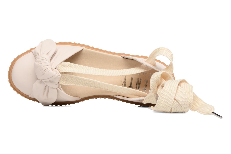 Sandales et nu-pieds Puma FTY BOW CREEPER SAND Beige vue gauche