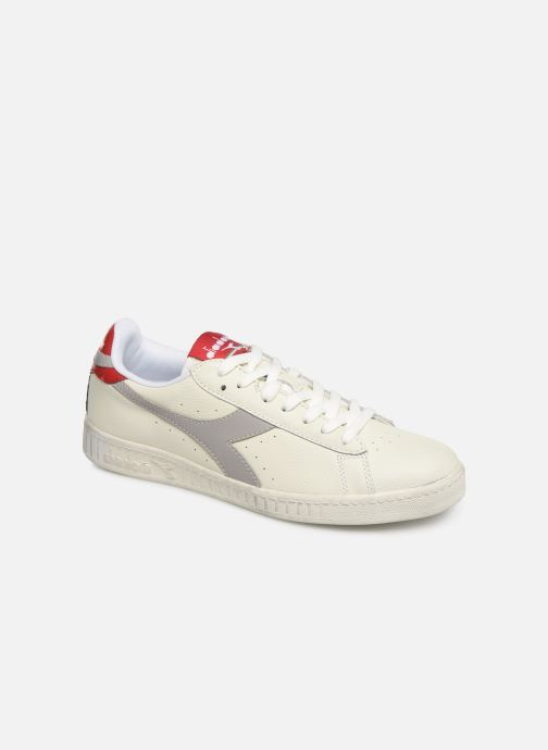 Baskets Diadora GAME L LOW WAXED Blanc vue détail/paire