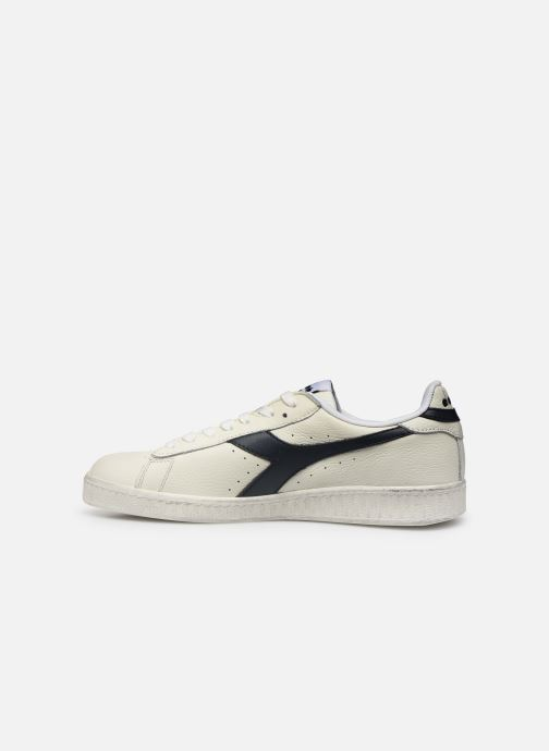 Sneakers Diadora GAME L LOW WAXED Wit voorkant